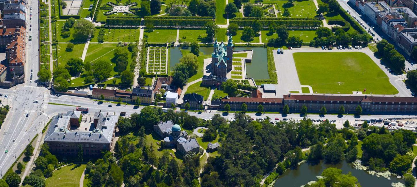 King's Garden and Rosenborg Castle