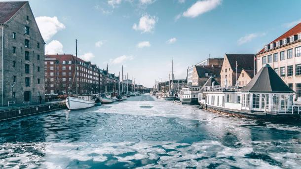 Christianshavns Canal in Winter | Martin Heiberg