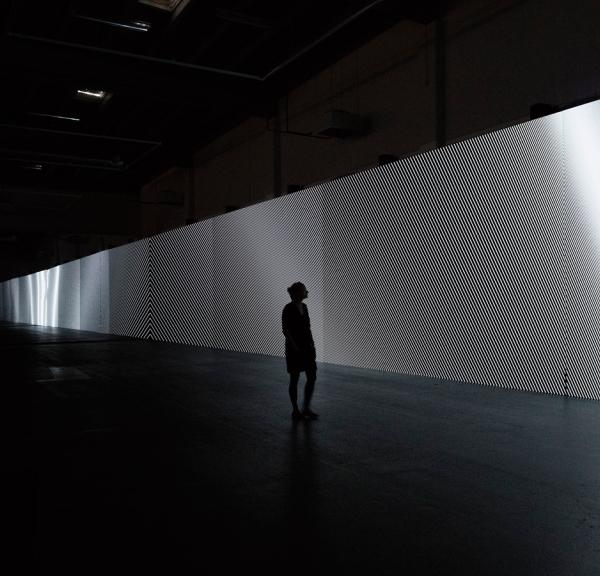 Carsten Nicolai unidisplay at Copenhagen Contemporary