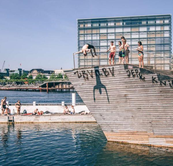 Harbour bath in Copenhagen