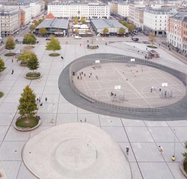 Israel's Square in the heart of Copenhagen