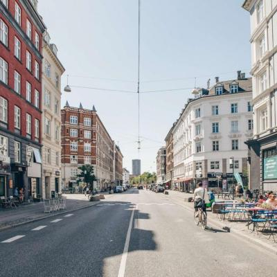 Istedgade is the main street in Copenhagen's Vesterbro area