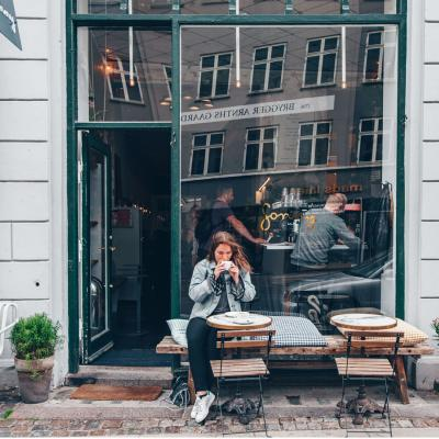 Sonny coffee shop and café in the heart of Copenhagen's city center