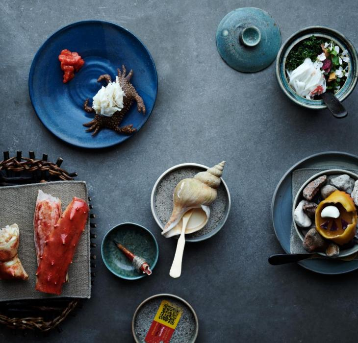 New Nordic Michelin-starred dinner at noma in Copenhagen