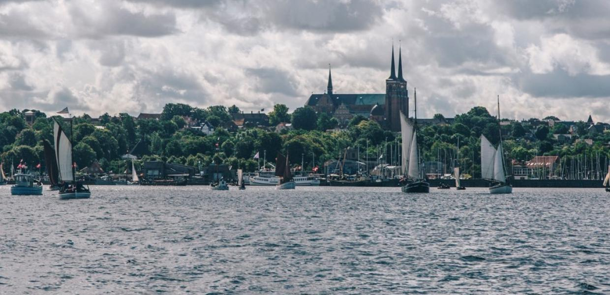 Roskilde from the waterside