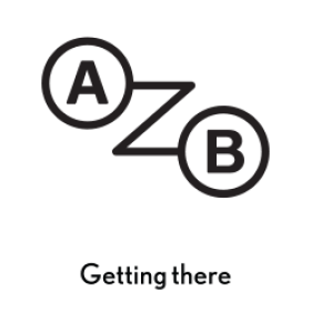 Getting there logo PNG